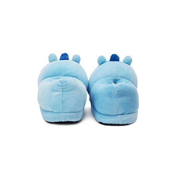MANG Plush Slippers | BTS X Line Friends - Purple 6