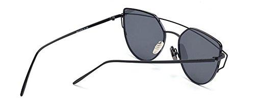 Lennon Grise du métallique vintage inspirées cercle polarisées Feuille rond A retro lunettes soleil en style de q6UT8T