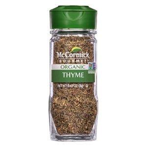 McCormick Organic Thyme 1.25 oz (Pack of 3)