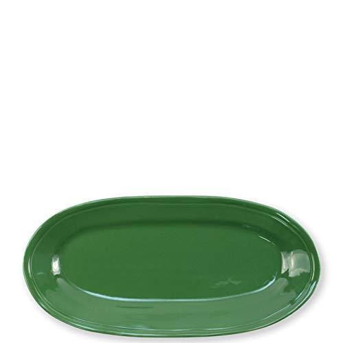 (Viva Fresh Green Narrow Oval Platter)