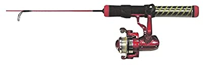 Ht Red Hot Ice Fishing Rod Combo