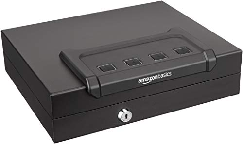 AmazonBasics Quick-Access Firearm Safety Device (Gun Safe Amazon)