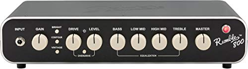 - Fender Rumble 800 Bass Amp Head v3