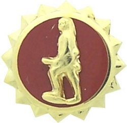 US Army Discharge Lapel Pin