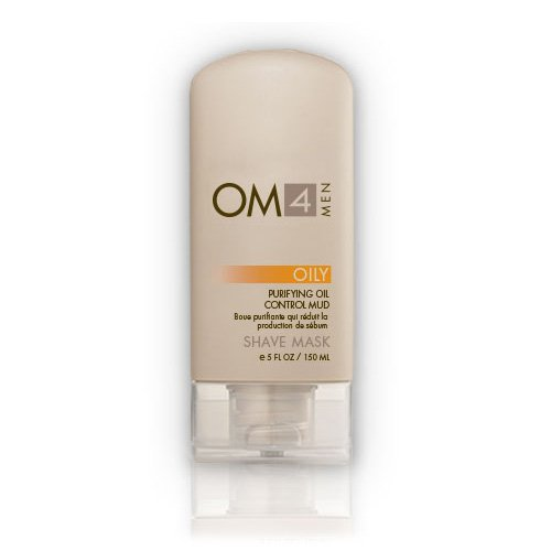 (Organic Male OM4 Oily Shave Mask: Purifying Oil Control Mud)