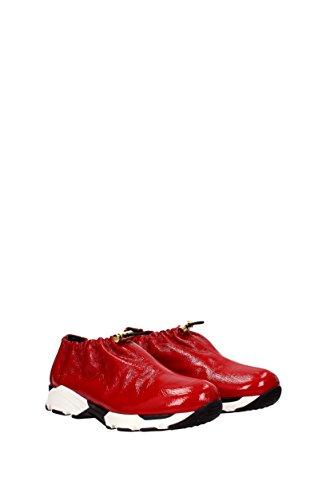 Marni Rosso SNZWV01G02LV342 Vernice Sneakers EU Donna qnC8Oxq