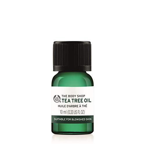 The Body Shop Tea Tree Oil, 0.33 Fl Oz (Vegan)