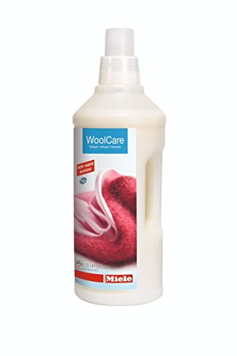 Miele Care Collection HE Wool Care for Woolens, Delicates and Silks - 50.72 Fluid Ounces (1.5 litres)