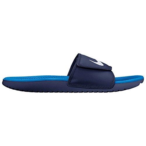 Nike Mens Kawa Justera Slide Binär Blå / Vit / Foto Blå