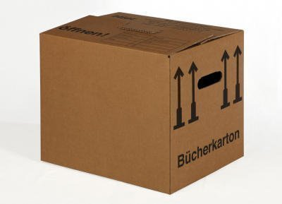 BB-Verpackungen Basic Lot de 30 boîtes à livres 400 x 330 x 340 mm BB-Verpackungen oHG