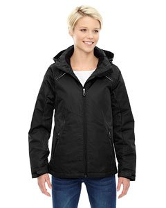 North End Linear Womens Black Insulated Winter Snow Ski Snowboard Jacket Coat,BLACK ,X-Large
