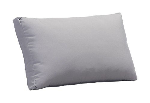Sand Beach Back Cushion Light Gray Dimensions: 30.3''W X 42438''D X 17.7''H Weight: 7 Lbs by Zuo Modern