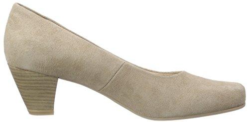 Caprice 22416 - Tacones Mujer Beige - Beige (BEIGE SUEDE 404)