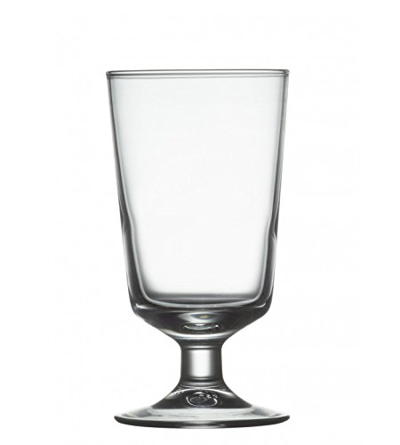 Arcoroc Excalibur 8 oz Footed Hi-Ball Glass (Fully Tempered) - 36/CS by Arcoroc