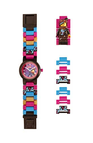 LEGO Watches and Clocks Girl's 'LEGO Movie 2 Wyldstyle' Quartz Plastic Watch, Color:Pink (Model: 8021452) -