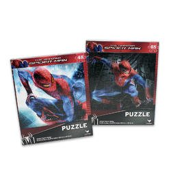 48 Piece Spiderman Puzzle (Assorted) - Childrens Beginner Puzzle - Assorted Kids Floor Puzzles