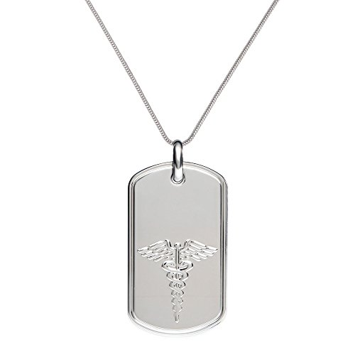 Engraved Medical Necklace - 8