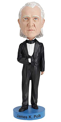 Royal Bobbles James K. Polk Bobblehead (James Head Bobble)