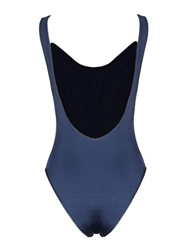 Valentino Women's Rb3uh00g22enb4 Blue Polyamide Bodysuit for sale  Delivered anywhere in USA