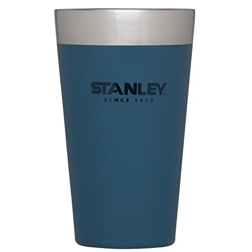 Stacking Mug Blue (Stanley Adventure Stacking Vacuum pint, 16 oz, Abyss)