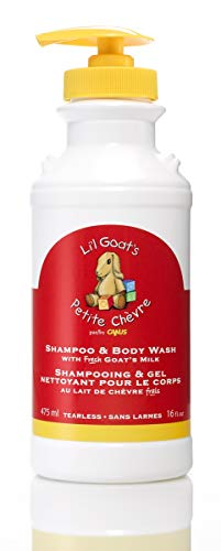 Goats Milk Shampoo - Li'l Goats by Canus Fresh Goat's Milk Shampoo and Body Wash, 16 Fluid Ounce