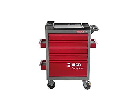 Carro de taller de WGB Das Werkzeug, Rojo: Amazon.es: Bricolaje y herramientas
