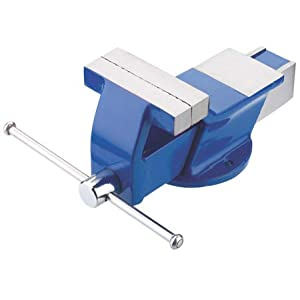 Buy Generic Steel Bench Vice HEAVY professional (4 inch) (100 mm) fix base