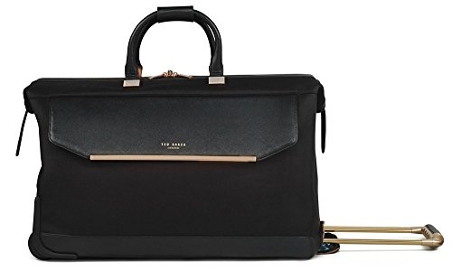 Ted Baker Womens Albany Softside Large Wheeled Trolley Duffel