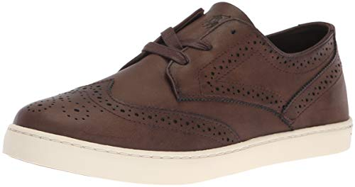 (Polo Ralph Lauren Kids Boys' Alek Oxford Sneaker Chocolate Burnished M045 M US Toddler )