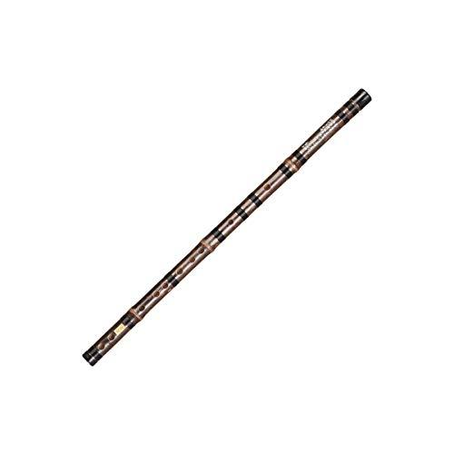 MUZIWENJU Refined Zizhu Flute, Professional Playing Grading Bamboo Flute, Adult Beginners Antique Flute, C, D, E, F, G instrument (Style : C)