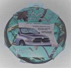 (Realtree Xtra Collapsible Windshield Shade (Teal))