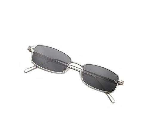 gafas hombres conducir metal libre al viajar de gafas unisex para aire Silver de de para UV400 de Gafas protección marco los sol moda de Zvxq5wTA