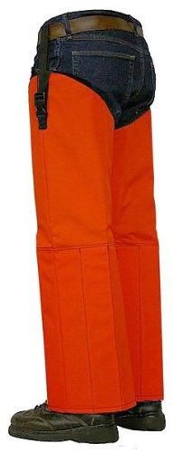 Crackshot Snake Chapz - Blaze Orange Polyester - Tall R-3904