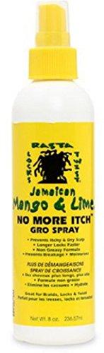 Jamaican Mango & Lime No More Itch Gro Spray, 8 oz (Pack of 2) (Jamaican Mango And Lime No More Itch)