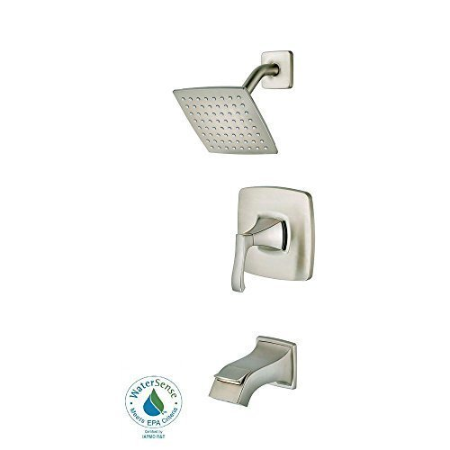 Venturi Handle (Pfister Venturi 8P8WSVNSK Single-Handle Tub and Shower Faucet in Brushed Nickel)