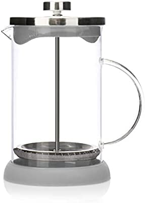 COM-FOUR® Cafetera con sistema French-Press - Coffee press también ...
