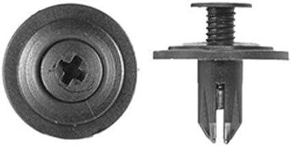 100 Airscoop Push Type Retainer Vent Panel Clip Fastener For Honda 90688-SB0-003