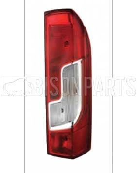 *CITROEN RELAY 2014 ON REAR TAIL LAMP LIGHT LENS DRIVERS SIDE RH//OS CIT050 x1