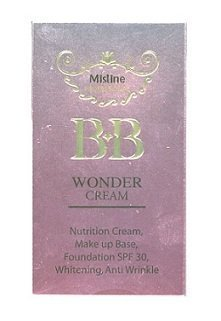 Mistine Professional BB Wonder Cream Whitening Makeup Base Foundation 15g
