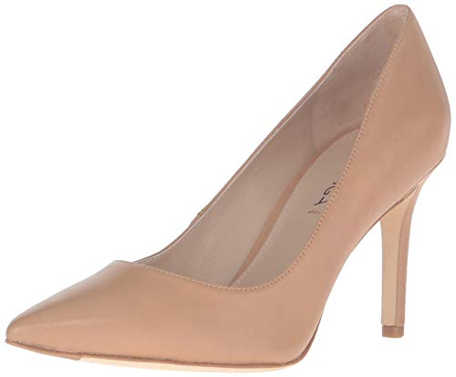 Via Spiga Women Shoes - Via Spiga Women's Carola Dress Pump, Nude Nappa, 5.5 M US