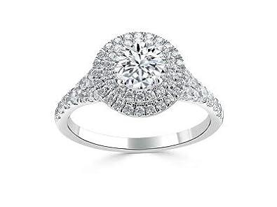 1.70 quilates Anillos de boda de diamante solitario Solitario 14K ...