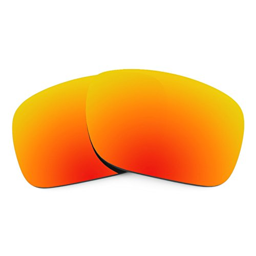 Revant Replacement Lenses for Oakley Holbrook Fire Red MirrorShield