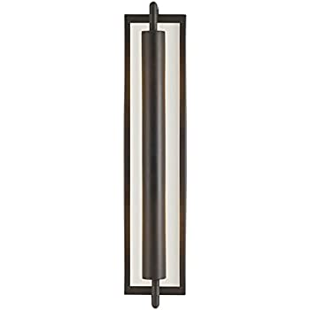 Feiss Wb1452orb Mila Glass Wall Sconce Lighting Bronze 2
