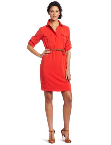 Calvin Klein Women's Button Front Dress