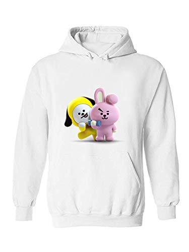 The Incredible BTS 3D Cooky Chimmy Jikook Kookmin Couple Hoodies Sweatshirts by The Incredible BTS