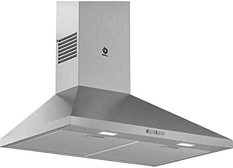 Balay 3BC676MX - Campana (600 m³/h, Canalizado/Recirculación, A, A, C, 69 dB): 170.99: Amazon.es: Grandes electrodomésticos