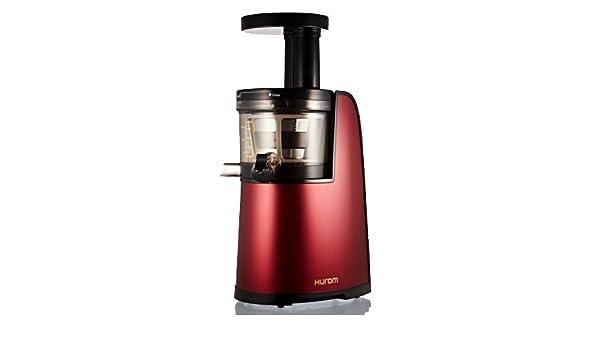 Hurom HG 600-Licuadora Vertical, color rojo metalizado, con ...