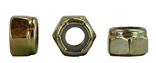 5/16-18 USS Nylon Insert Lock Nuts, Grade 8, Qty 50 pieces (Nylock) (5/16-18 Nylock)