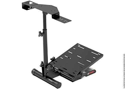 Extreme Sim Racing Wheel Stand SPRO - Black Edition Racing Simulator For Logitech G25, G27, G29, G920, Thrustmaster And Fanatec - Extremely Compact (Grand Theft Auto 5 Game Play Now)