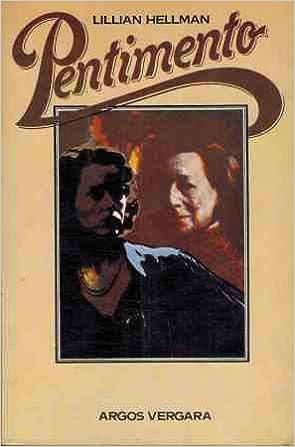 Download Pentimento By Lillian Hellman